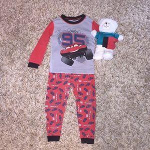Little Boys Disney Cars Pajama Set